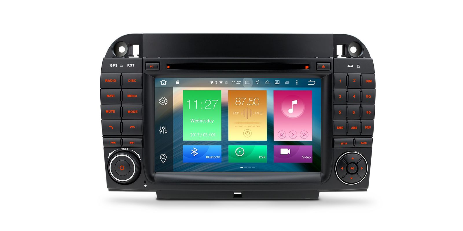 7 Android 60 Octacore 2gb Ram 32gb Car Dvd Gps 4k Benz S W220 Mercedes E Class Stereo Radio Wiring Harness Adapter Iso Home Autoradios Vehicle Specific L O