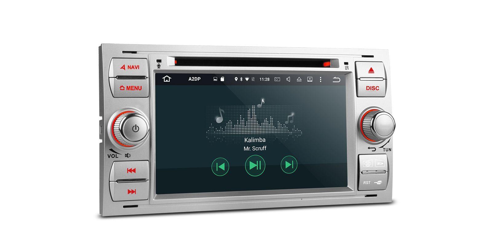 ford headunit 7 radio dvd gps android 6 0 2gb ram. Black Bedroom Furniture Sets. Home Design Ideas